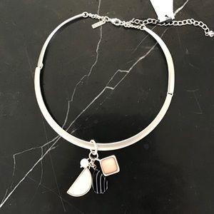 NWT White House Black Market Mixed Stone necklace
